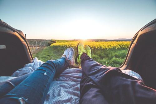 profiter de la vie soleil couple
