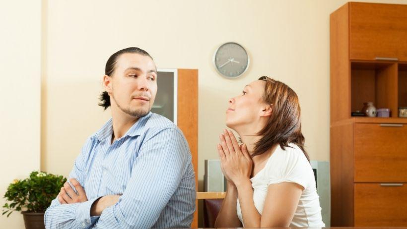 se sentir rejeter par son conjoint